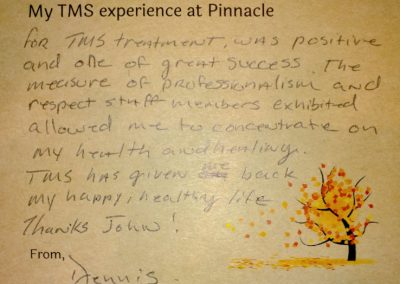 Image of TMS Testimonial from Dennis