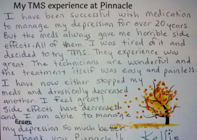 Image of TMS Testimonial from Kellie