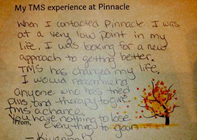 Image of TMS Testimonial from Kiyannah